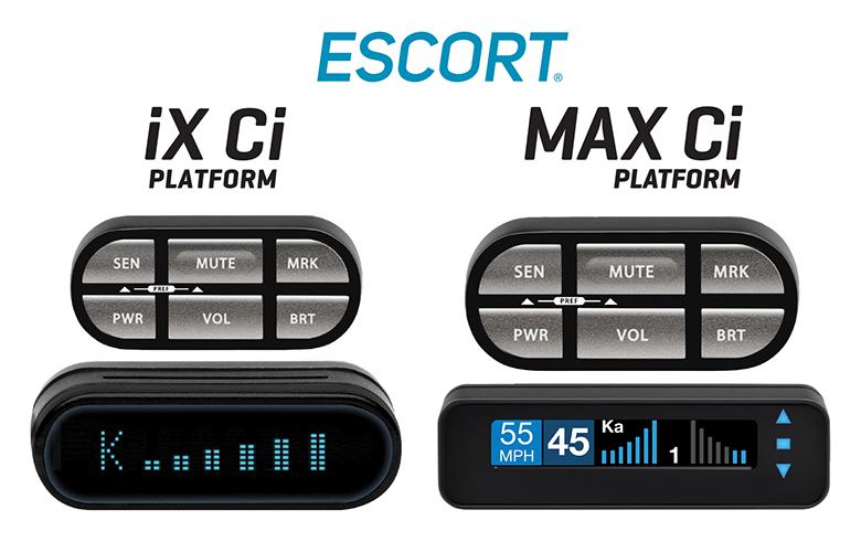 ESCORT Radar Introduces new iX Ci and MAX Ci Platform Custom
